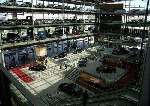 Car Dealerships In Fairbanks >> POWER CARS: The most beautiful car dealerships - Mercedes ...